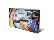"Игровой набор MEGAPOLIS ""COLOR TWISTERS COLOR WASH. Turbo"" с автомойкой (DreamWorks) в коробке"
